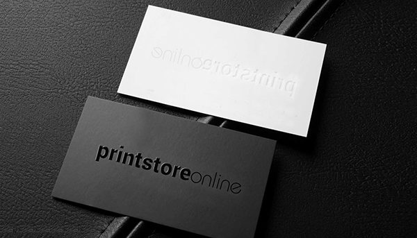 Embossed Business Card Printing Services Melbourne Business Cards